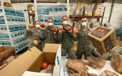 FOOD DELIVERY SERVICE, NATIONAL GUARD AND MORE