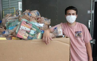 SAFER AIR CENTER, EAGLE SCOUT PROJECT, HUNGER ACTION MONTH – SEPTEMBER 19