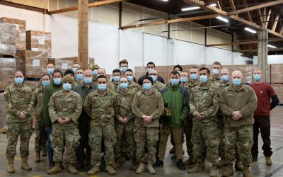 NATIONAL GUARD AND NATIONAL NUTRITION MONTH
